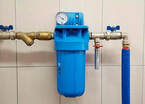 Установка фильтра для воды в Киеве