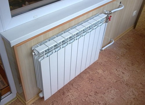 Установка радиатора (батареи) в Киеве