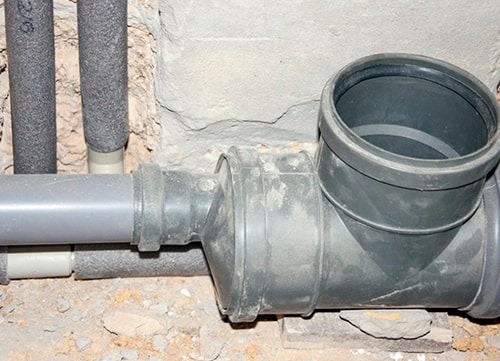 Замена разводки канализации в Киеве